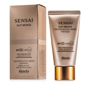 Kanebo Sensai Silky Bronze Sun Protective Cream For Face SPF 30  50ml/1.7oz