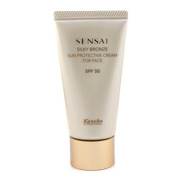 Kanebo Sensai Silky Bronze Crema Protección Solar Rostro SPF 50  50ml/1.7oz