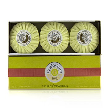Roge & Gallet Fleur d' Osmanthus Perfumed Soap Coffret  3x100g/3.5oz