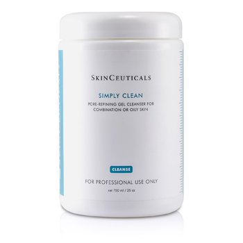 Skin Ceuticals Simply Clean Pore Refining Gel Cleanser (For Combination/ Oily Skin) (Salon Size)  750ml/25oz