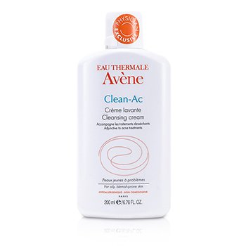 Avene Clean-AC كريم منظف (للبشرة الدهنية العرضة للشوائب)  200ml/6.76oz