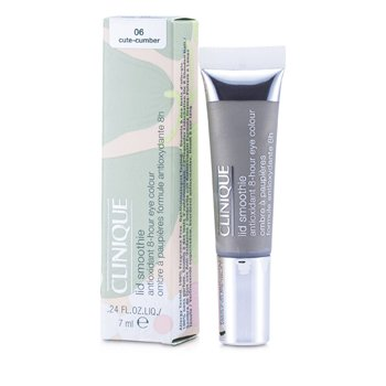 Clinique Cień do powiek w kremie Lid Smoothie Antioxidant 8 Hour Eye Colour - #06 Cute-Cumber  7ml/0.24oz