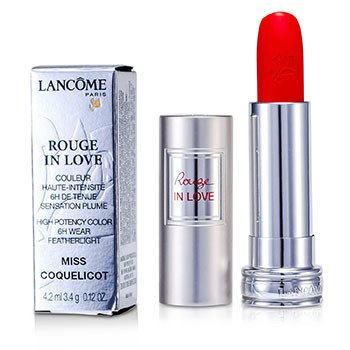 Lancome Rouge In Love Ruj - # 146B Miss Coquelicot  4.2ml/0.12oz