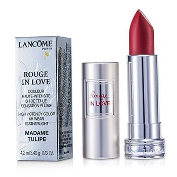 Lancome Rouge In Love Pintalabios - # 156B Madame Tulipe  4.2ml/0.12oz
