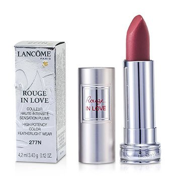 Lancome Rouge In Love Lipstick - # 277N Violine Lamee  4.2ml/0.12oz