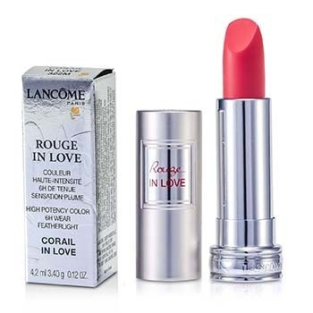 Lancôme Batom Rouge In Love Lipstick - # 322M Corail In Love  4.2ml/0.12oz