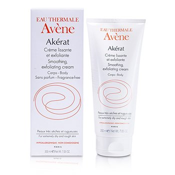 Avene Akerat Smoothing Exfoliating Cream (For Extremely Dry and Rough Skin)  200ml/7.05oz