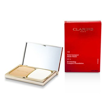 Clarins Everlasting Compact Foundation SPF 15 - # 110 Honey  10g/0.35oz