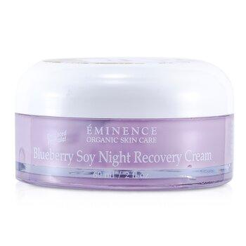 Eminence Blueberry Crema Recuperadora noche Soja  60ml/2oz
