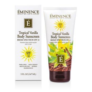 Eminence Tropical Vanilla Body SPF 32  147ml/5oz