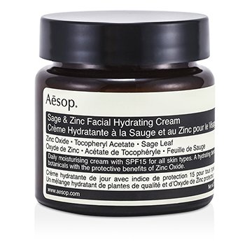 Aesop Sage & Zinc Facial Hydrating Cream SPF15  60ml/2.45oz