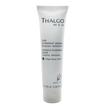 Thalgo Intensywnie nawiżający krem do twarzy dla mężczyzn Thalgomen Intensive Hydrating Cream (duża pojemność)  100ml/3.38oz