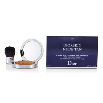 Christian Dior Pó facial Diorskin Nude Tan Nude Glow Sun Powder (With Kabuki Brush) - # 003 Cinnamon  10g/0.35oz
