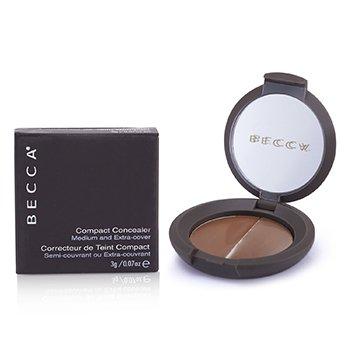 Becca Kompakt Concealer Medium & Ekstra dekning - # Valnøtt 2447  3g/0.07oz