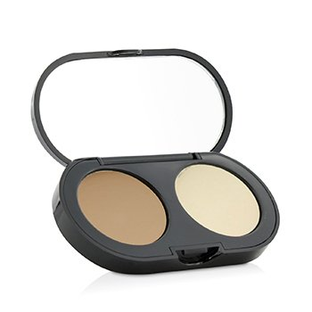 Bobbi Brown New Creamy Concealer Kit - Honey Creamy Concealer + Pale Yellow Sheer Finished Pressed Powder  3.1g/0.11oz
