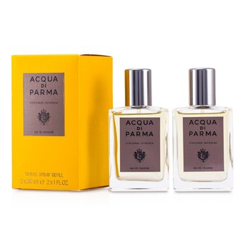 Acqua Di Parma Acqua di Parma Colonia Intensa Eau De Cologne Travel Spray Refills  2x30ml/1oz