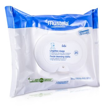Mustela Facial Cleansing Cloths  25cloths