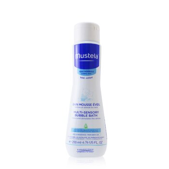 Mustela Multi Sensory Bubble Bath  200ml/6.76oz