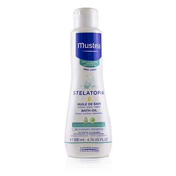 Mustela Stelatopia Milky Bath Oil  200ml/6.7oz