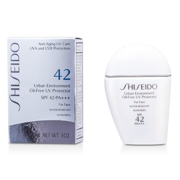 Shiseido ურბან ინვაირენმენთ უცხიმო UV კორექტორი SPF42 PA+++  30ml/1oz
