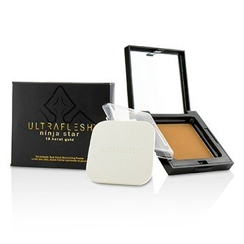 Fusion Beauty Ultraflesh Ninja Star 18 Karat Gold Polvo Hidratante Acabado Dual - # Brilliant  7.7g/0.27oz