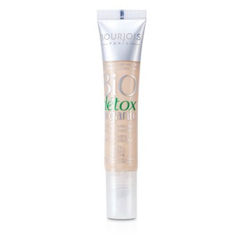 Bourjois Corretivo Anti-Inchaço face - Bio Detox Organic Anti Puffiness Concealer - No. 02 Light To Medium  8ml/0.27oz