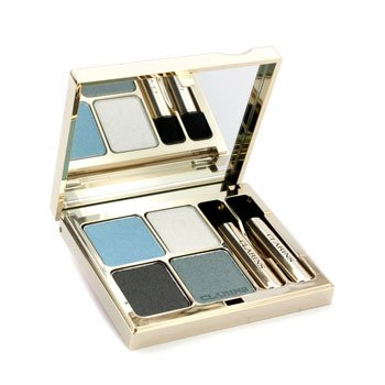 Clarins Eye Quartet Mineral Palette - # 08 Blue Sky  5.8g/0.2oz