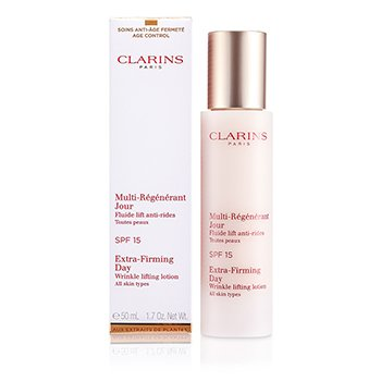 Clarins Extra-Firming Day Wrinkle Lifting Lotion SPF 15 (All Skin Types)  50ml/1.7oz