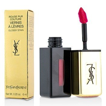 Yves Saint Laurent Rouge Pur Couture Vernis a Levres Brillo Satinado - # 11 Rouge Gouache  6ml/0.2oz