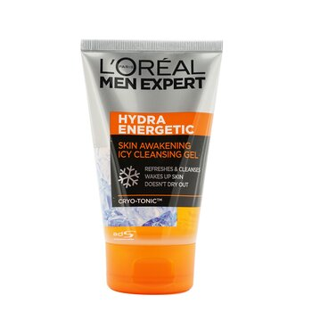 L'Oreal Men Expert Hydra Energetic Skin Awakening Icy Cleansing Gel  100ml / 3.4oz