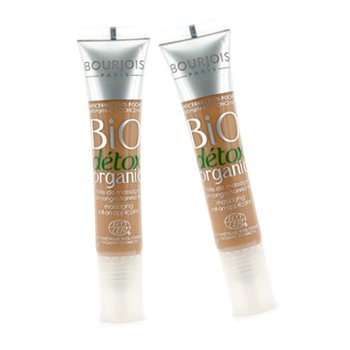 Bourjois Bio Detox Organic Anti Puffiness Concealer Duo Pack - No. 03 Bronze To Dark  2x8ml/0.27oz