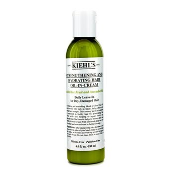 Kiehl's Strengthening And Hydrating Hair Oil-In-Cream  180ml/6oz