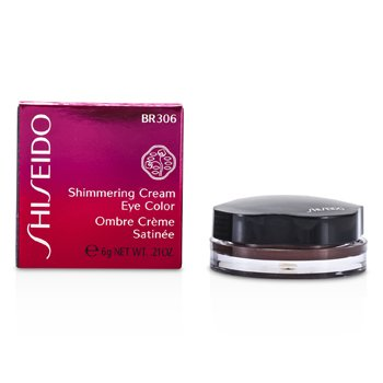 Shiseido Crema Brillante Color de Ojos - # BR306 Leather  6g/0.21oz