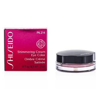 Shiseido Shimmering Cream Eye Color - # PK214 Pale Shell  6g/0.21oz