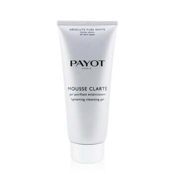 Payot Absolute Pure White Mousse Gel Limpiador Blanqueador  200ml/6.7oz