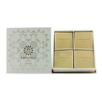 Amouage Gold Хош Иістендірілген Сабын  4x50g/1.8oz