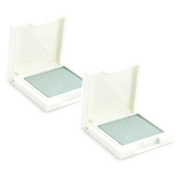 Korres Eye Shadow Duo Pack - # 42S Green White (Shimmering)  2x1.8g/0.06oz