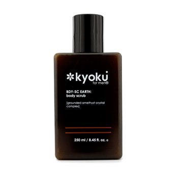 Kyoku Para Homem Exfoliante Earth Body Scrub  250ml/8.45oz