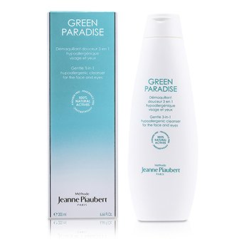 Methode Jeanne Piaubert Green Paradise Mild 3-i-1 Hypoallergisk Rens (For ansikt & �yne)  200ml/6.66oz
