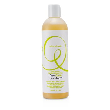 DevaCurl DevaCare Low-Poo No-Fade Mild Lather Champú  355ml/12oz