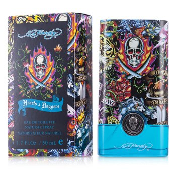 Christian Audigier Ed Hardy Hearts & Daggers Agua de Colonia Vap.  50ml/1.7oz