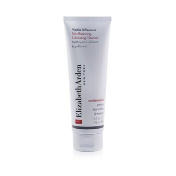 Elizabeth Arden Creme Visible Difference Skin Balancing Exfoliating Cleanser (Pele mista)  125ml/4.2oz