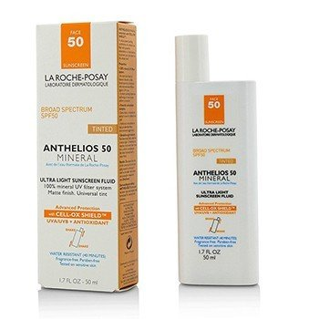 La Roche Posay Anthelios 50 Mineral Tinted Ultra Light Sunscreen Fluid  50ml/1.7oz