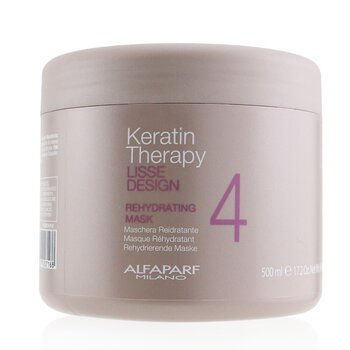 AlfaParf Lisse Design Keratin Therapy Rehydrating Mask (Salon Size)  500ml/17.63oz