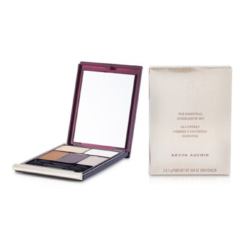 Kevyn Aucoin The Essential Eye Shadow Set - Palette #3  5x1g/0.04oz