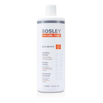 Bosley Professional Strength Bos Revive Nourishing Shampoo (For Visibly Thinning Color-Treated Hair)  1000ml/33.8oz