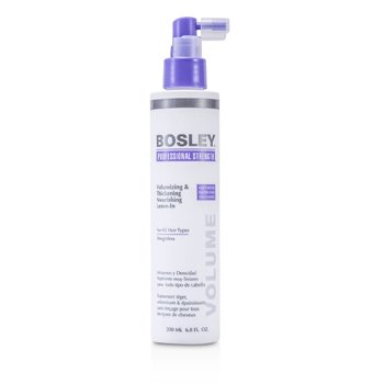 Bosley Professional Strength Volumizing & Thickening Nourishing Leave-In (For All Hair Types)  200ml/6.8oz
