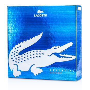 Lacoste Caixa Lacoste Essential Sport: Eau De Toilette Spray 125ml/4.2oz + Desodorante bastão 75ml/2.4oz  2pcs
