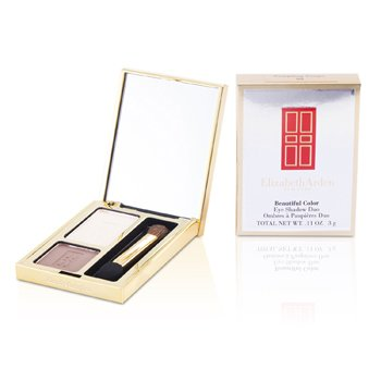 Elizabeth Arden Beautiful Color Eyeshadow Duo - # 03 Tempting Taupe  3g/0.11oz
