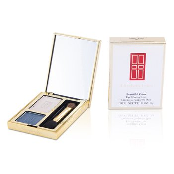 Elizabeth Arden Sombra duo Beautiful Color Eyeshadow Duo - # 06 Misty Teal  3g/0.11oz